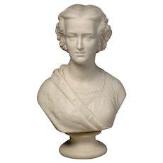 Parian Bust of Princess Alexandra by Copeland