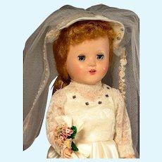 "15"" Horseman Hard Plastic Bride in Box"