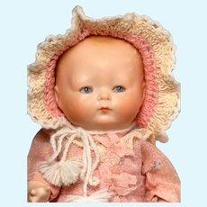 "8 1/4"" All Bisque Horsman Tynie Baby"