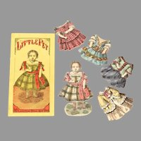Early Paper Doll Little Pet in Orig. Sleeve with Outfits