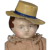 """6 1/4"""" Rare Early Squeaker with Molded Hat"""