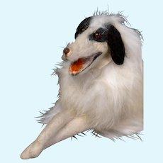"8"" Reclining French Borzoi Hound Salon Dog"