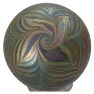 Craig Zweifel Art Glass Paperweight 1976