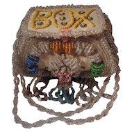 Iroquois Beaded Whimsie Box  Souvenir