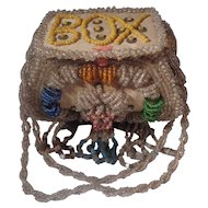 Iroquois Beaded Whimsie Box  Souvenir