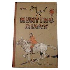 Cecil Aldin The Hunting Diary 1935-1936