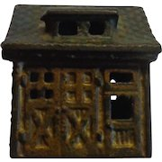 Cast Iron Building Stable Money Bank