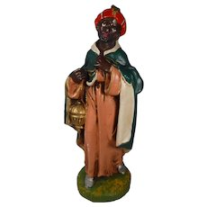Fontanini Large Nativity Figure Wise Man Paper Mache Italy