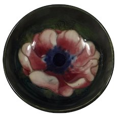Moorcroft Pottery Mini Bowl Anemone