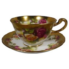 Golden Rose Royal Chelsea Cup and Saucer England