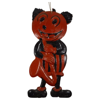 Halloween Germany Mickey Mouse Saxophone Die Cut Glossy Finish JOL Band Member