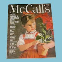 McCALL'S  Magazine- Dec. 1959 - 35 cents - Doll related Articles & Pictures