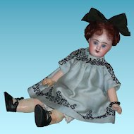 "French - A.B. BOUCHET 2 - Rare 10"" Doll - Blue Eyes & Cute Clothes!!"