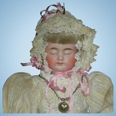 """(3) THREE FACE DOLL - Carl Bergner Faces - Bisque Head & Composition Body - Pretty Clothes!! - 14"""""""