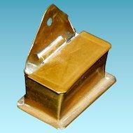 "MATCH BOX - Miniature - For a Dollhouse - Vintage - Metal - 1 1/4"""