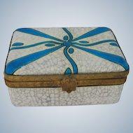 Art Deco Boch Frères Art Pottery Box
