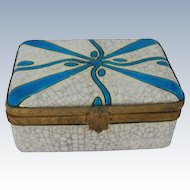Art Deco Boch Frères Art Pottery Box