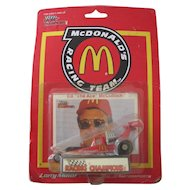 Ed The Ace McCulloch Dragster Toy Die Cast Car, McDonald's Toy MIB