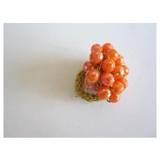 Cluster Bead Ring, Possibly Designer