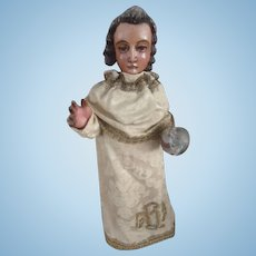 Carved Religious figure of Christ