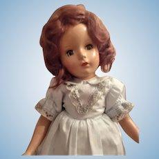 Beautiful Madame Alexander Hard Plastic Girl