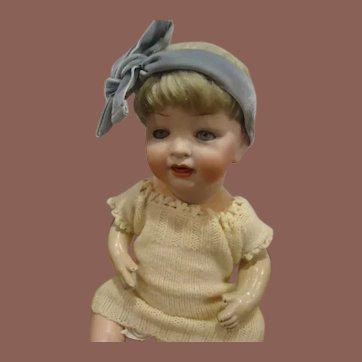 "Darling 16"" Hertel & Schwab Character Baby"