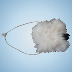 Wonderful real fur muff for your antique girls