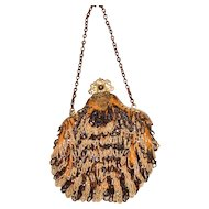 Lovely Antique Beaded Purse