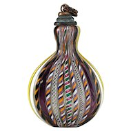Early C20th Colour Cane Glass Snuff Bottle, Similar To Scent Perfume Bottle #2