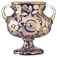 1910 Mühlhaus & Co. Haida cold enamelled footed vase