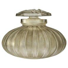 Early 1920s Maison Lalique M477 Bouchon Papillon scent perfume bottle, signed