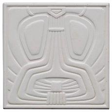 c.19105 NSTG German modernist tile, framed