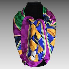 Vintage Yves St Laurent silk scarf