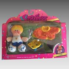 Vintage Fisher Price Smooshees Cuddlers on the Go Seth boxed set