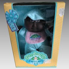 Xavier Roberts Hasbro Joshua Cabbage Patch Babyland doll