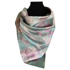 Vintage Jim Thompson Thai silk scarf