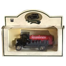 Vintage Standard Oil promotional toy Red Crown gasoline truck