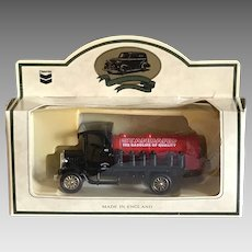 Vintage Standard Oil promotional toy Red Crown gasoline truck