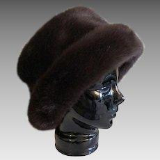 Vintage Betmar New York Faux Fur Winter Hat