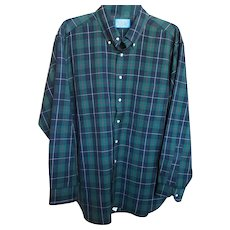Vintage Mens Wool Pendleton Mac Leod Tartan Shirt