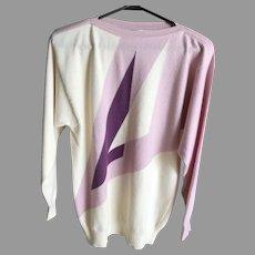 1950's Beatnik Handmade for Harrods Cashmere Sweater
