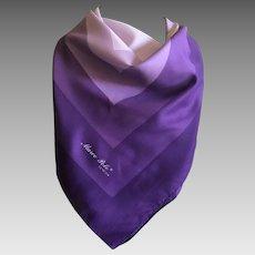 Marco Polo Venezia Italian Polyester Scarf in Purples
