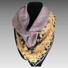 Vintage Italian Polyester Scarf