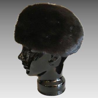 Mr. John Fabulous Furs Black Mink Hat