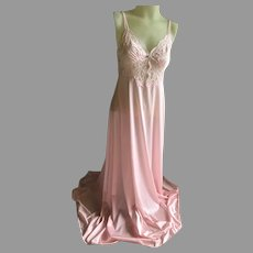 Vintage Pink Olga Night Gown