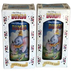 2 Vintage Disney Dumbo Glasses NIB