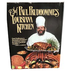 1984 Chef Paul Prudhommes Louisiana Kitchen Cookbook