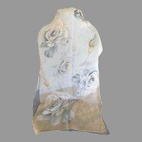 Vintage Halston Sheer Silk Chiffon Scarf