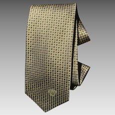 Vintage gold silk Versace necktie