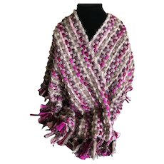 Ann Taylor Loft bulky knit scarf wrap